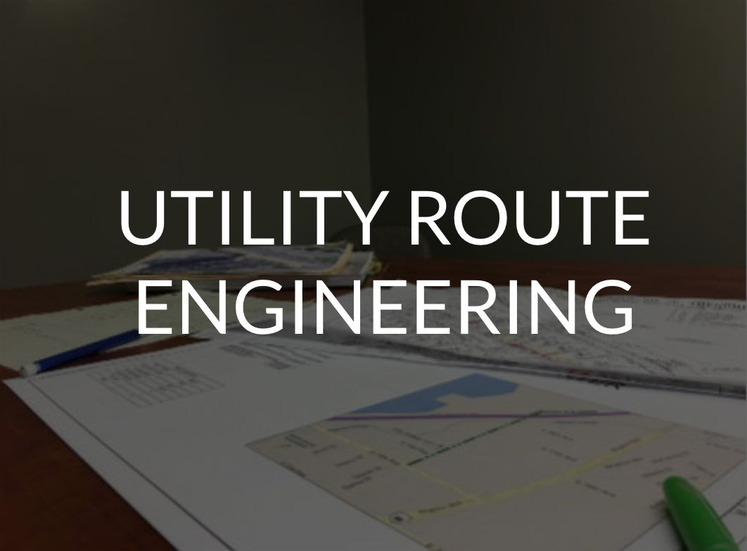 Utility Route Engineering - Communication Construction and Engineering